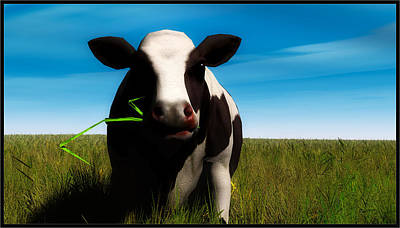 Digital Art - Moo... by Tim Fillingim