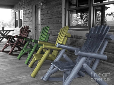 Mood Seating Art Print