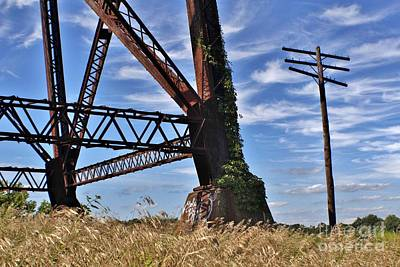 Easter Egg Hunt Rights Managed Images - Moodna Viaduct Train Trestle Royalty-Free Image by Chet B Simpson