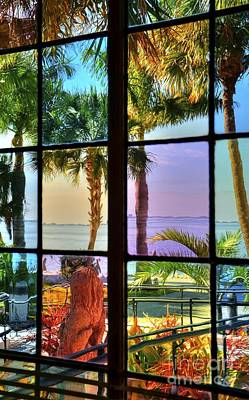 Sarasota Artist Photograph - Moods In Stained Glass by Norman Gabitzsch