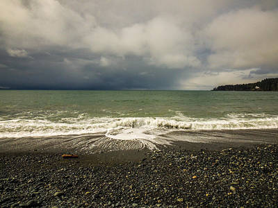 Photograph - Moody Swirl French Beach by Roxy Hurtubise