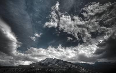 Photograph - Moody Blue by Wayne Sherriff