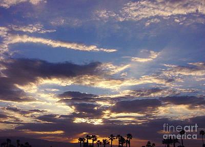 Photograph - Moody Desert Sunrise by Deborah Smolinske