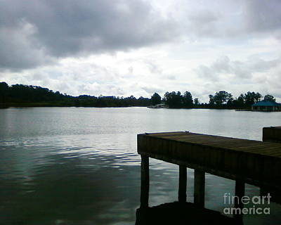 Photograph - Moody Dock by Tamyra Crossley