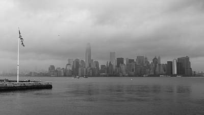 Moody Manhattan Art Print