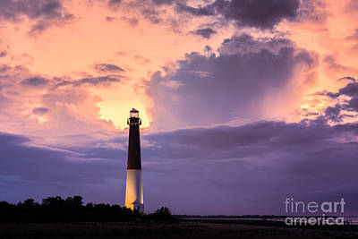 Moody Sunset At Barnegat Lighthouse Original by Michael Ver Sprill