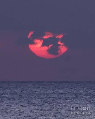 Photograph - Moody Sunset by Barbie Corbett-Newmin