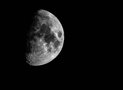 Photograph - Moon 1 by Jahred Allen