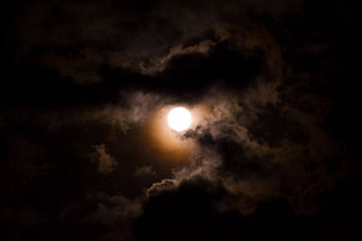 Photograph - Moon 3 by Bonnie Leigh Delar