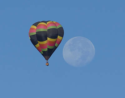 Photograph - Moon And Balloon by Ernie Echols