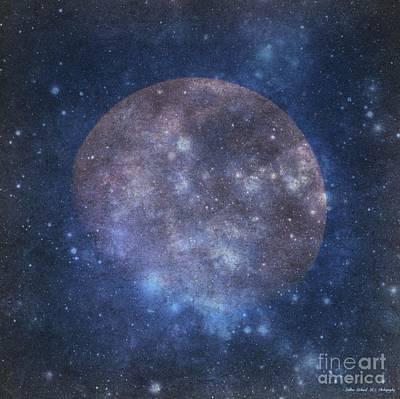 Photograph - Moon Art  by Bobbee Rickard