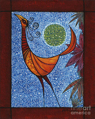 Painting - Moon Bird by Terry Durham
