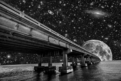 Photograph - Moon Bridge by Kevin Cable