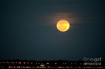 Photograph - Moon Burn by Gary Smith