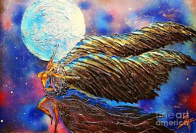 Dancer Mixed Media - Moon Dance by James Pizzimenti