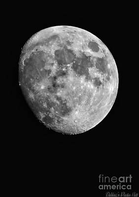 Photograph - Moon by Debbie Portwood