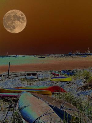 Moon Dreams Art Print by Robert McCubbin
