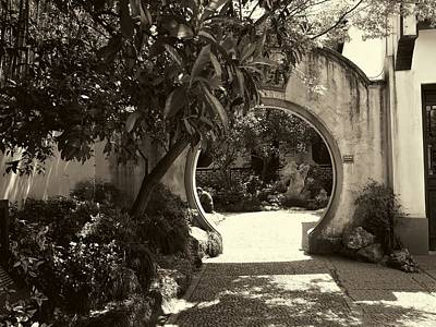 Photograph - Moon Gate by Robert Knight