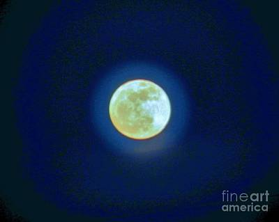 Photograph - Moon Glow by Judy Via-Wolff