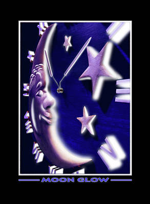 Moon Glow Art Print by Mike McGlothlen