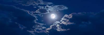 Astronomy Photograph - Moon Glow by Steve Gadomski