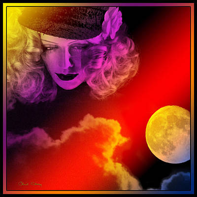 Photograph - Moon Goddess by Chuck Staley
