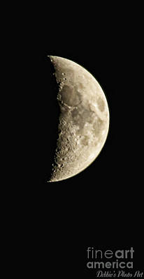 Photograph - Moon II by Debbie Portwood