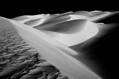 Photograph - Moon Light Dunes by Paul W Faust -  Impressions of Light