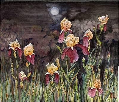 Moon Light At My Backyard Art Print