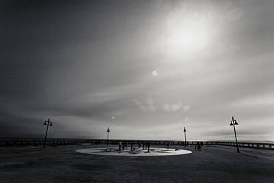 Photograph - Moon Light Yoga II by Scott Meyer