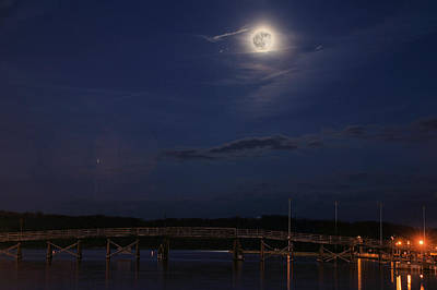 Photograph - Moon Over Annapolis  by JC Findley