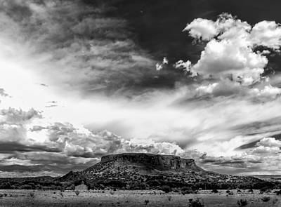 Photograph - Moon Over Black Mesa by Lou  Novick