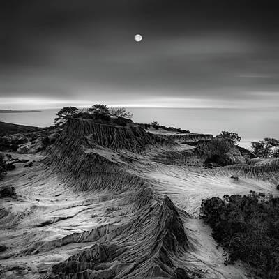 Coast Wall Art - Photograph - Moon Over Broken Hill by Yi Fan