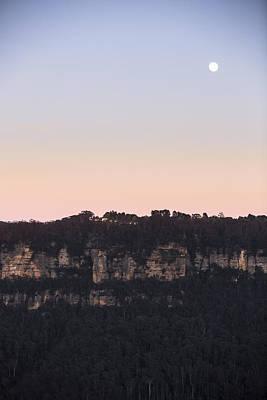 Photograph - Moon Over Leura by Joe Wigdahl