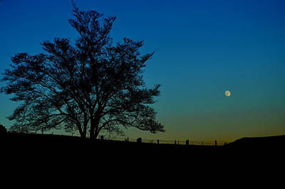Photograph - Moon Over Mccormick by Cathy Shiflett