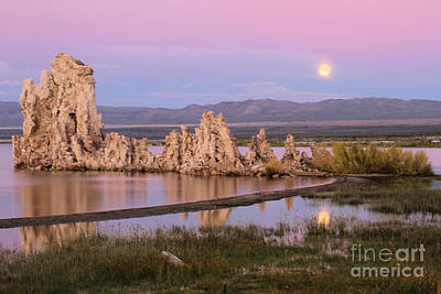 Photograph - Moon Over Mono by Adam Jewell