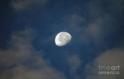 Photograph - Moon Over Philadelphia by Scott D Welch