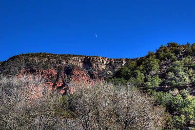 Photograph - Moon Over The Mesa by Chuck Summers