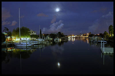 Photograph - Moon Over Treasure Island by Laurie Perry