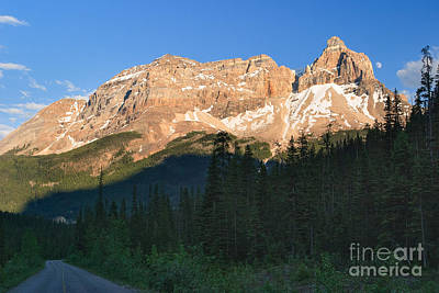 Photograph - Moon Over Yoho Valley Road by Charles Kozierok