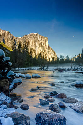 Photograph - Moon Over El Capitan by James Hammond