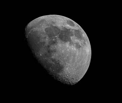 Art Print featuring the photograph Moon Phase by Dennis Bucklin