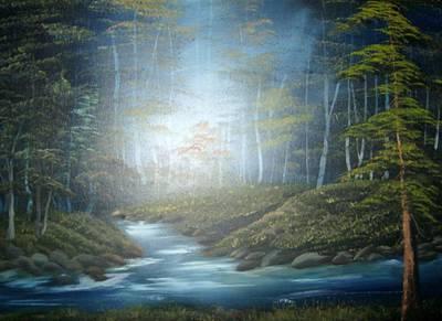 Moon River Mystery Art Print