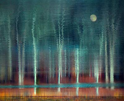 Moon River Art Print by William Schmid
