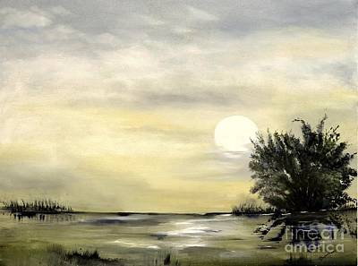 Painting - Moon Shadow by Carol Sweetwood