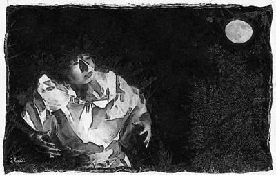 Moon Shadow Art Print by George Rossidis