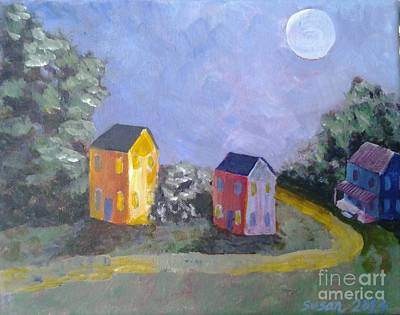 Painting - Moon Shadows by Susan Williams