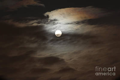 Photograph - Moon Shine 2 by Karen Adams