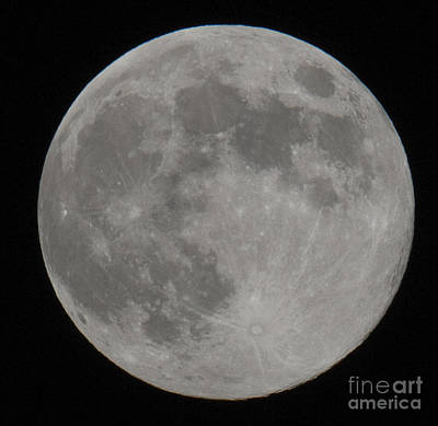 Photograph - Moon Shot by Dale Powell
