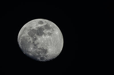 Bangalore Photograph - Moon Sight by Dilwar Mandal